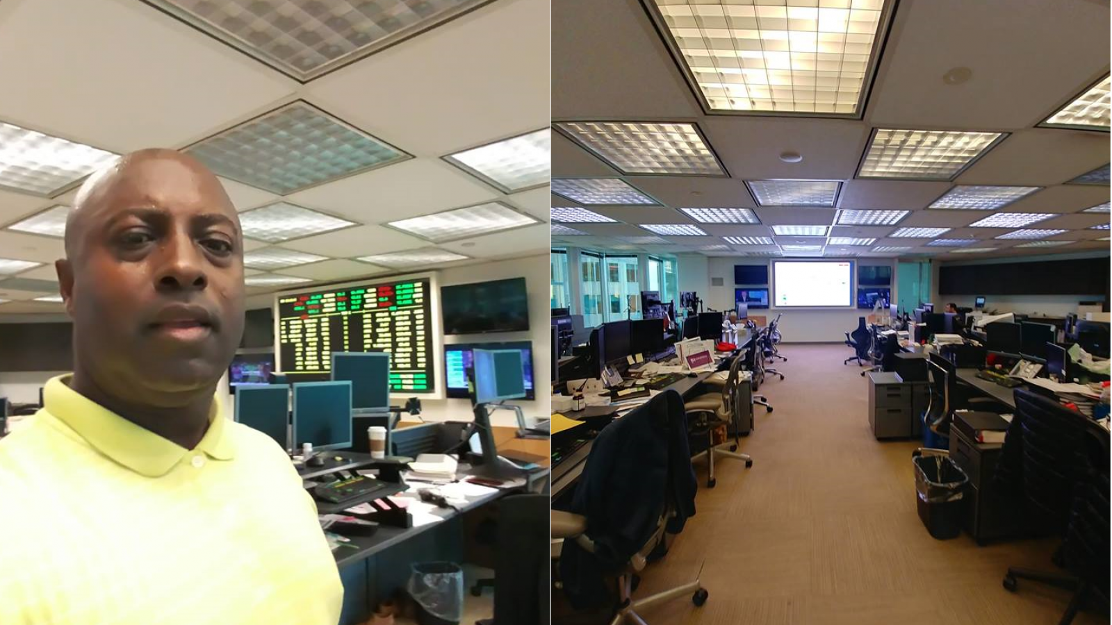 High-Resolution Financial Trading Indoor SMD-LED Display Technology